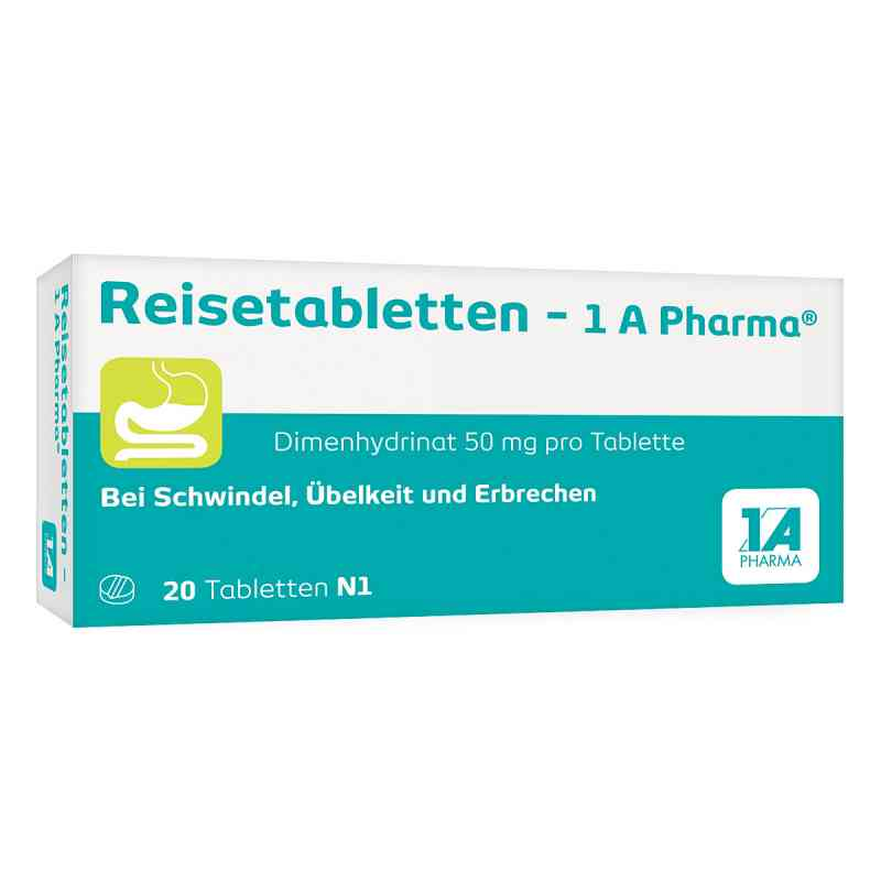 Reisetabletten-1A Pharma  bei juvalis.de bestellen