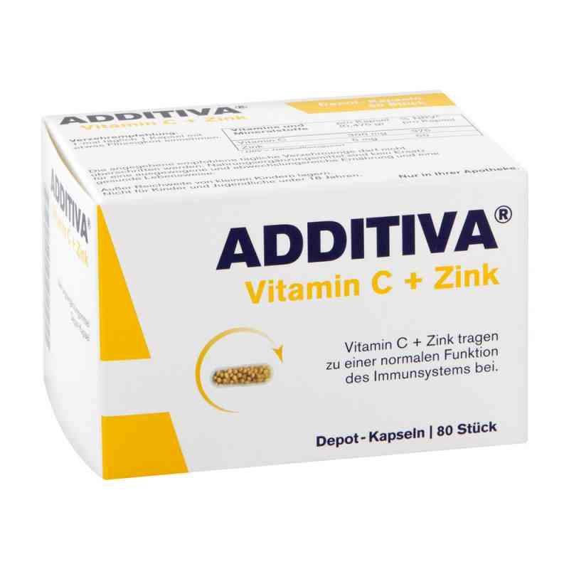 Additiva Vitamin C+zink Depotkaps.aktionspackung  bei juvalis.de bestellen