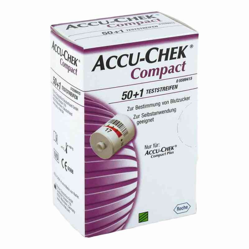 Accu Chek Compact Teststreifen  bei juvalis.de bestellen