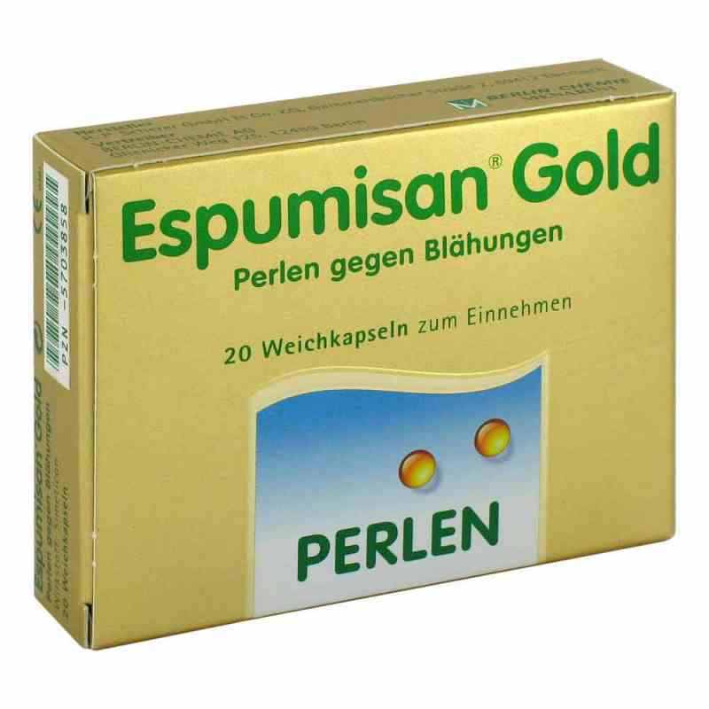 Espumisan Gold Perlen gegen Blähungen  bei juvalis.de bestellen
