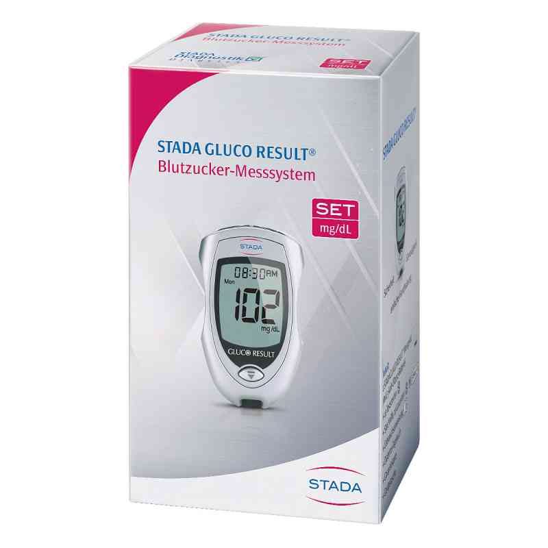 Stada Gluco Result Blutzuckermessgerät mg/dl  bei juvalis.de bestellen