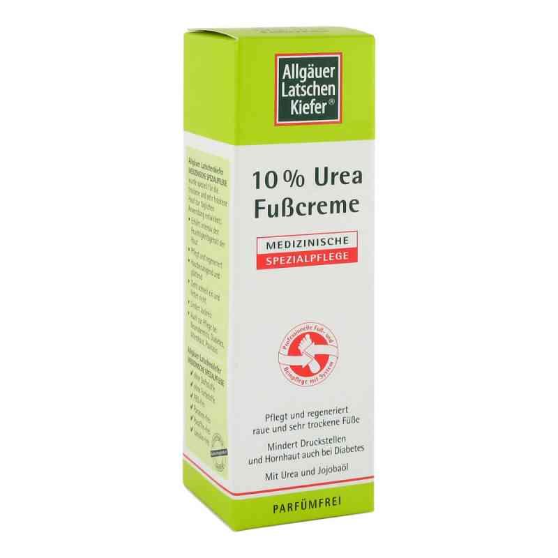 Allgäuer Latschenk. 10% Urea Fusscreme  bei juvalis.de bestellen