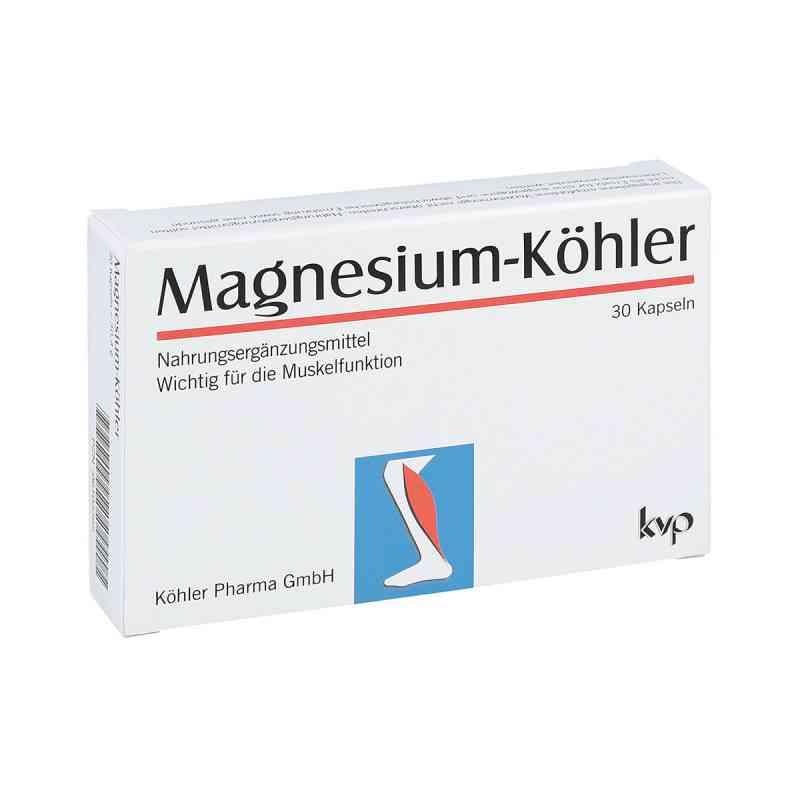 Magnesium Köhler Kapseln  bei juvalis.de bestellen