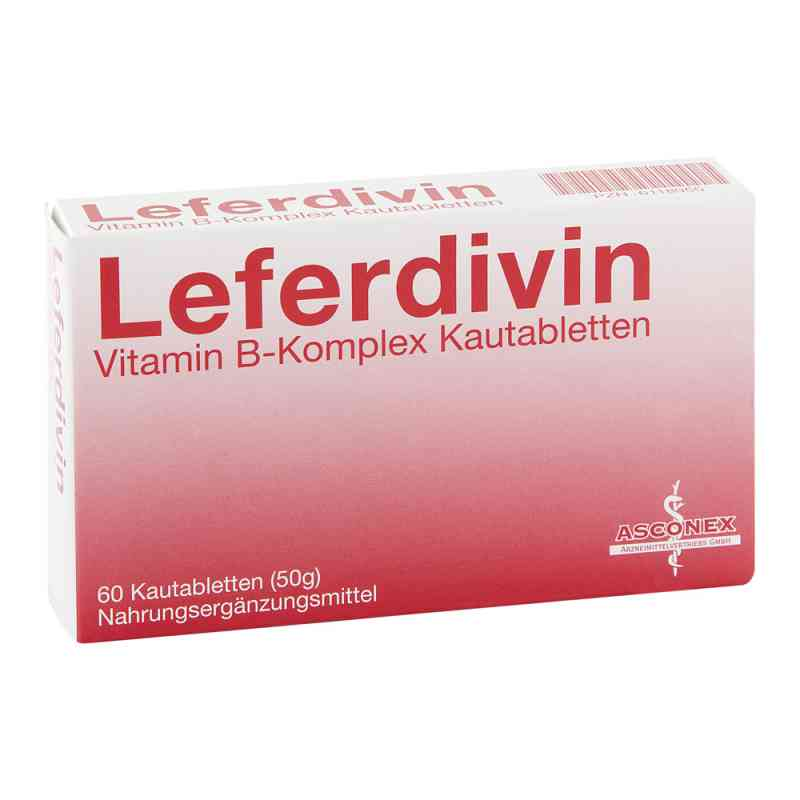 Leferdivin Vitamin B Komplex Kautablette  bei juvalis.de bestellen