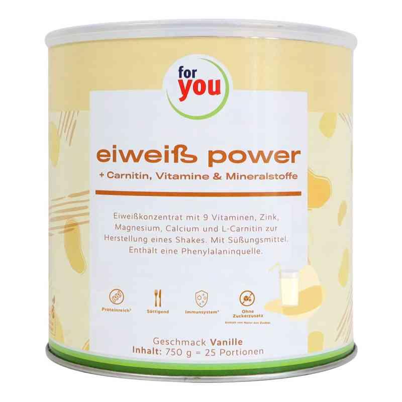 For You Eiweiss Power Vanille  bei juvalis.de bestellen