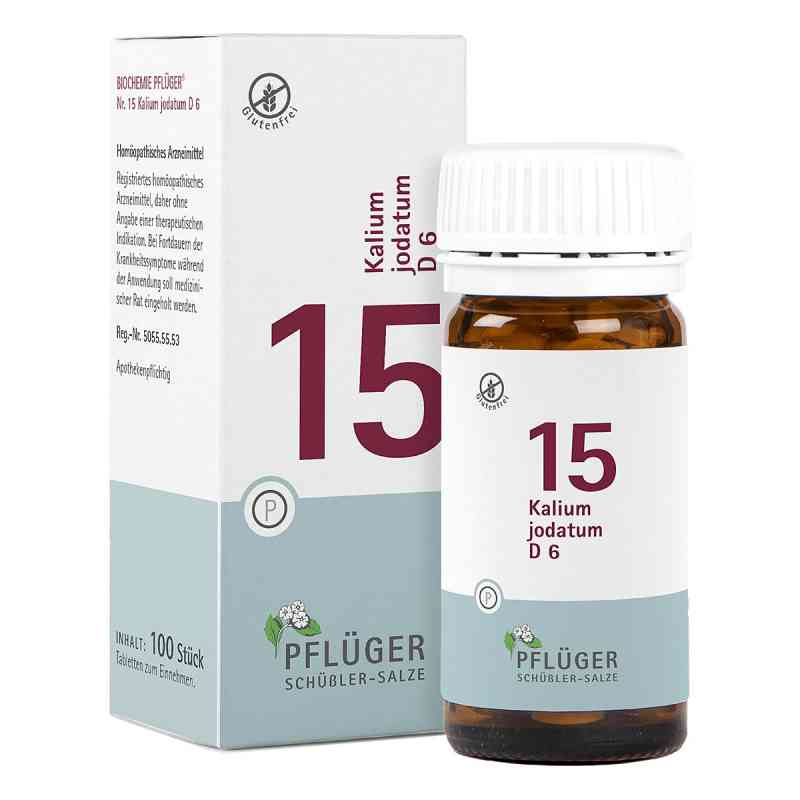 Biochemie Pflüger 15 Kalium jodatum D6 Tabletten  bei juvalis.de bestellen