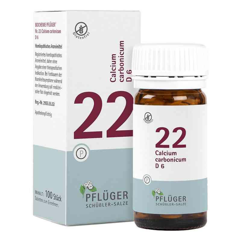 Biochemie Pflüger 22 Calcium carbonic.D 6 Tabletten  bei juvalis.de bestellen