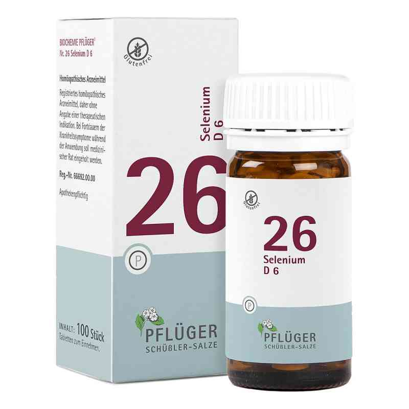 Biochemie Pflüger 26 Selenium D6 Tabletten  bei juvalis.de bestellen