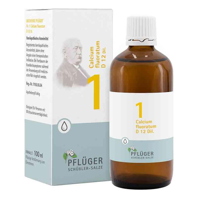 Biochemie Pflüger 1 Calcium fluor.D 12 Tropfen  bei juvalis.de bestellen
