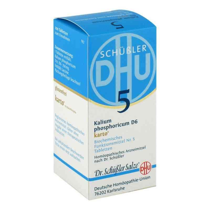 Biochemie Dhu 5 Kalium phosphorus D6 Karto Tabletten  bei juvalis.de bestellen