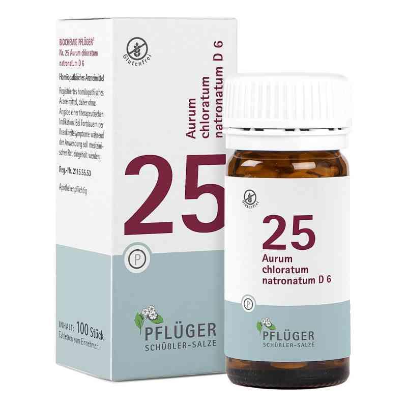 Biochemie Pflüger 25 Aurum chlor.natr.D 6 Tabletten  bei juvalis.de bestellen