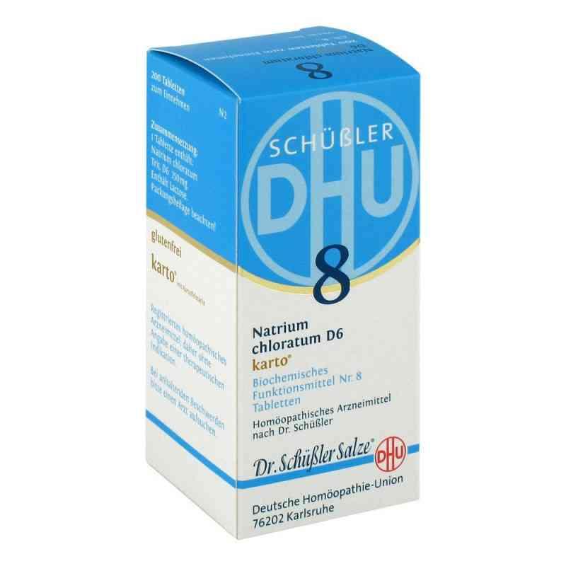 Biochemie Dhu 8 Natrium chlor. D6 Karto Tabletten  bei juvalis.de bestellen