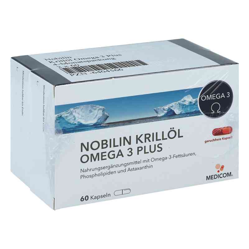 Nobilin Krillöl Omega 3 Plus Kapseln  bei juvalis.de bestellen