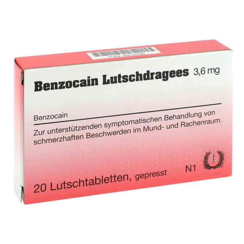Benzocain Lutschdragees 3,6mg  bei juvalis.de bestellen