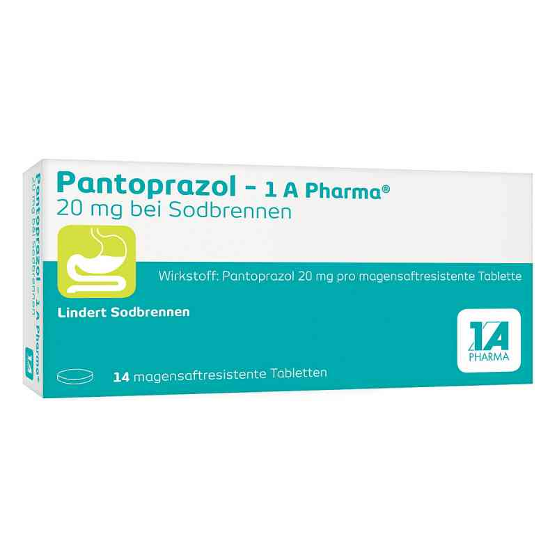 Pantoprazol-1A Pharma 20mg bei Sodbrennen  bei juvalis.de bestellen