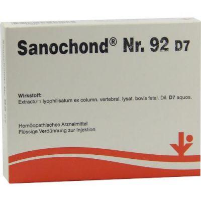 Sanochond Nummer 9 2 D7 Ampullen  bei juvalis.de bestellen