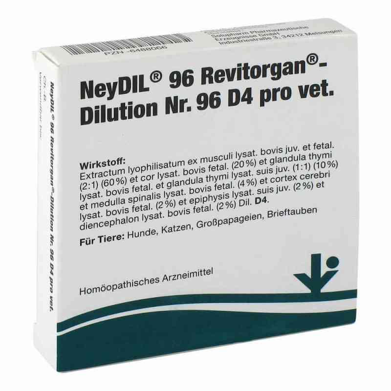 Neydil Nummer 9 6 Revitorgan Dilution d 4 pro veterinär Ampullen  bei juvalis.de bestellen
