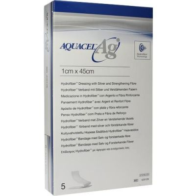 Aquacel Ag 1x45 cm Tamponade mit Verstärkungsfasern  bei juvalis.de bestellen