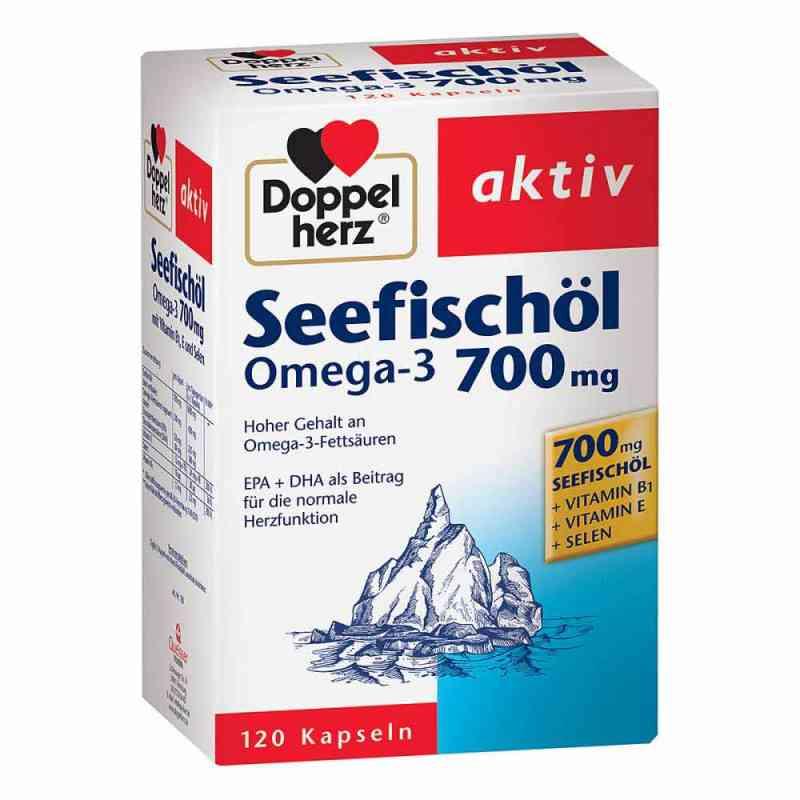 Doppelherz Seefischöl Omega-3 700 mg Kapseln  bei juvalis.de bestellen