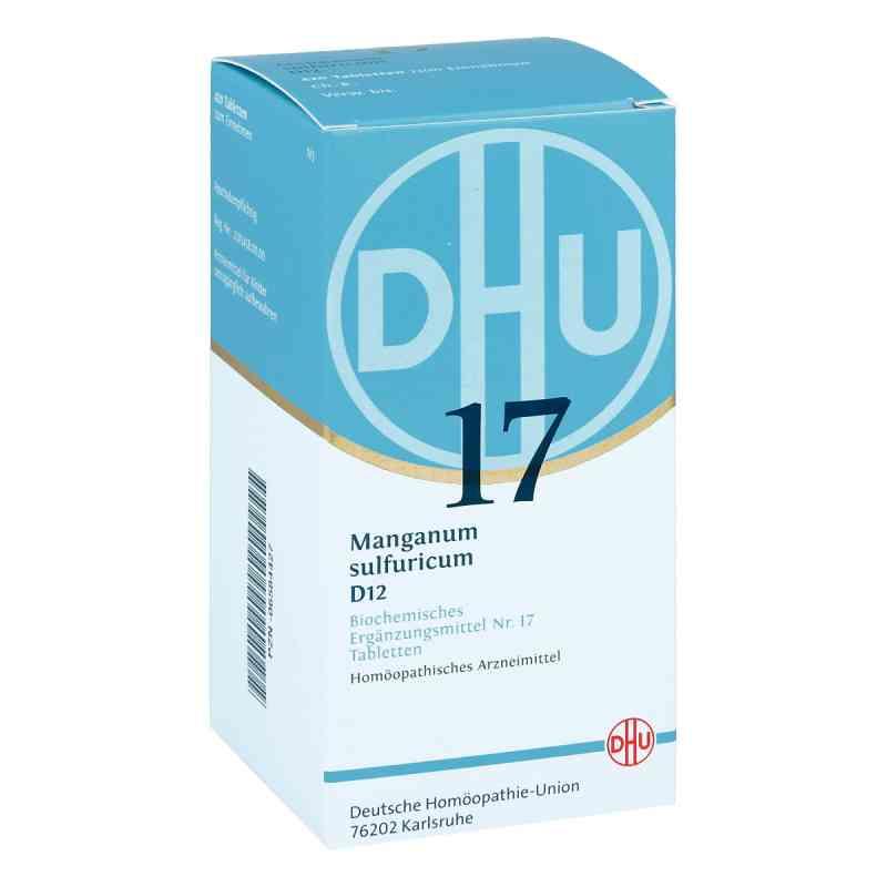 Biochemie Dhu 17 Manganum sulfuricum D 12 Tabletten   bei juvalis.de bestellen