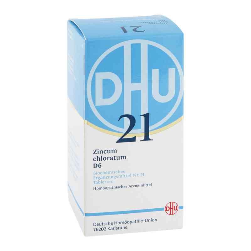Biochemie Dhu 21 Zincum chloratum D6 Tabletten  bei juvalis.de bestellen