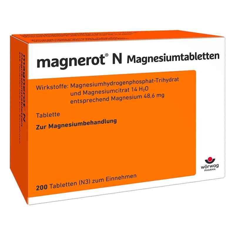 Magnerot N Magnesiumtabletten  bei juvalis.de bestellen