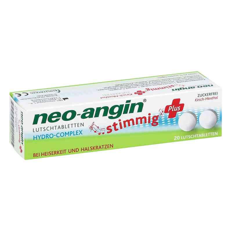 Neo Angin stimmig Plus Kirsche Lutschtabletten  bei juvalis.de bestellen