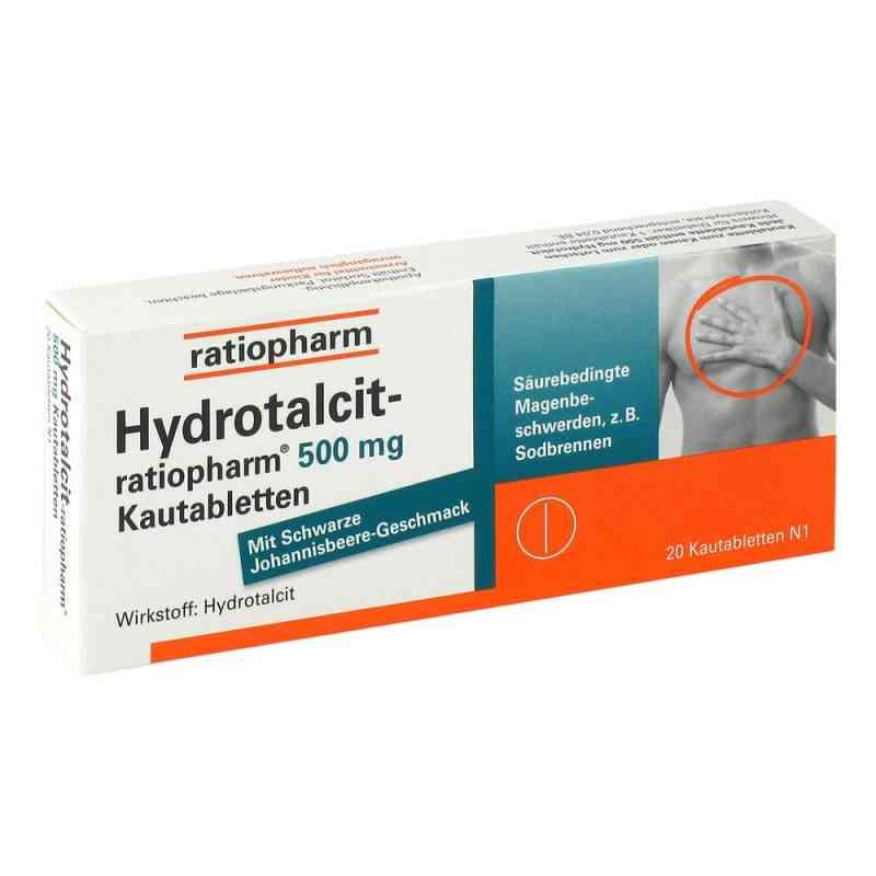 Hydrotalcit-ratiopharm 500mg  bei juvalis.de bestellen