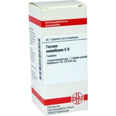 Ferrum Metallicum C6 Tabletten  bei juvalis.de bestellen