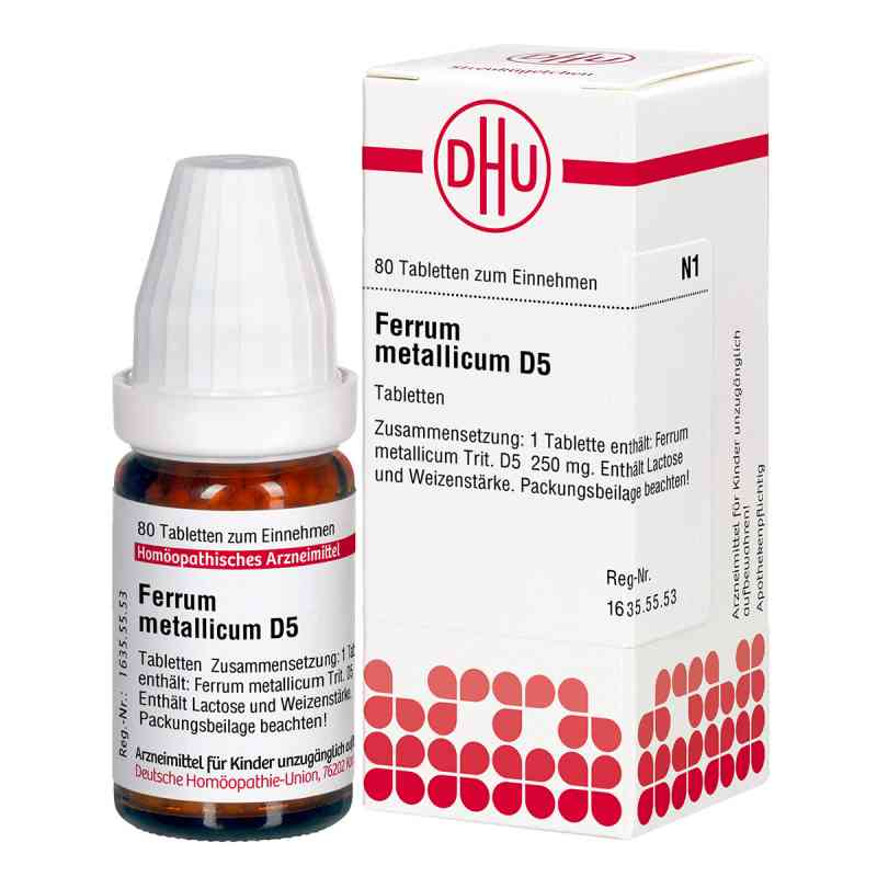 Ferrum Metallicum D5 Tabletten  bei juvalis.de bestellen