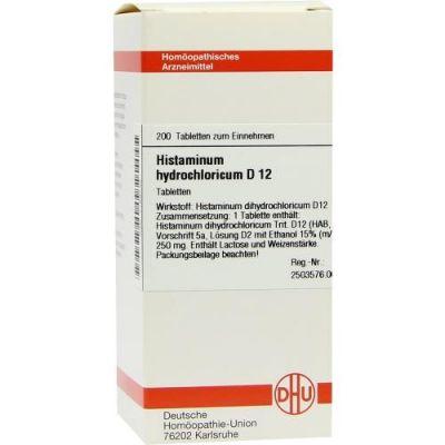 Histaminum Hydrochloricum D12 Tabletten  bei juvalis.de bestellen