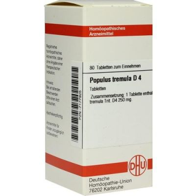 Populus Tremula D4 Tabletten  bei juvalis.de bestellen