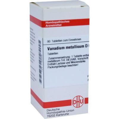 Vanadium Metallicum D6 Tabletten  bei juvalis.de bestellen