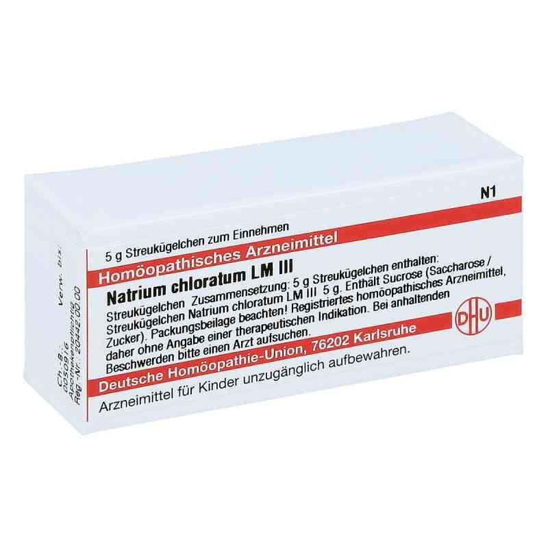 Lm Natrium Chloratum Iii Globuli  bei juvalis.de bestellen