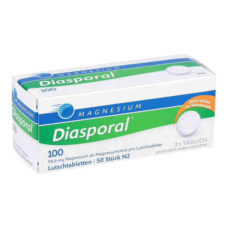 Magnesium Diasporal 100 Lutschtabletten  bei juvalis.de bestellen