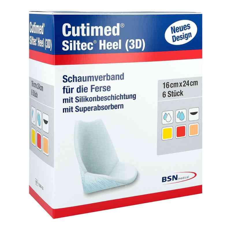 Cutimed Siltec Heel 3d 16x24 cm Kompressen  bei juvalis.de bestellen