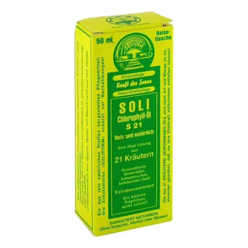 Soli-chlorophyll-öl S 21  bei juvalis.de bestellen