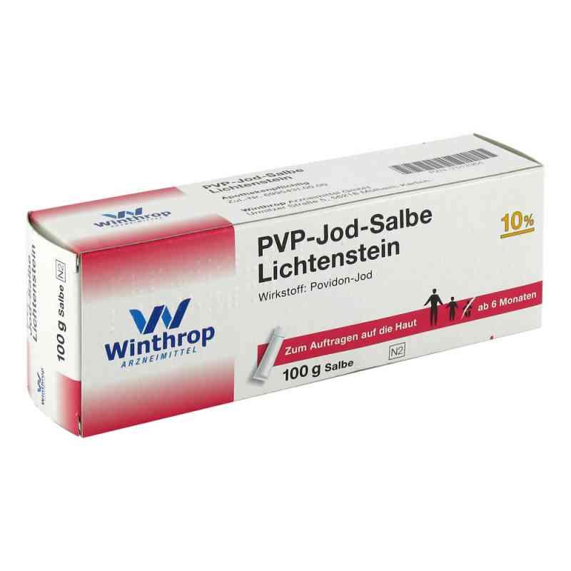 Pvp Jod Salbe Lichtenstein  bei juvalis.de bestellen