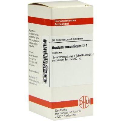 Acidum Succinicum D4 Tabletten  bei juvalis.de bestellen