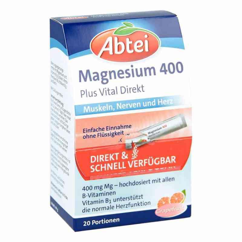 Abtei Magnesium 400+vitamin B Komplex Granulat  bei juvalis.de bestellen