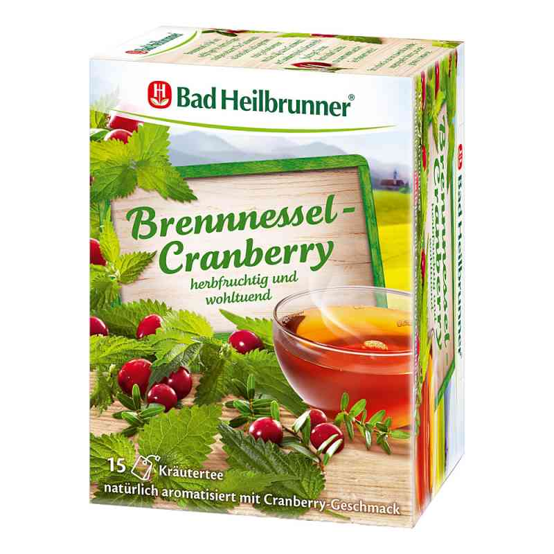 Bad Heilbrunner Tee Brennessel Cranberry Filterbtl  bei juvalis.de bestellen