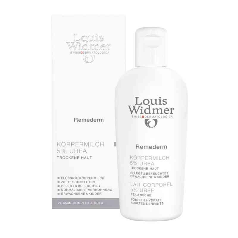 Widmer Remederm Körpermilch 5% Urea leicht parfümiert  bei juvalis.de bestellen