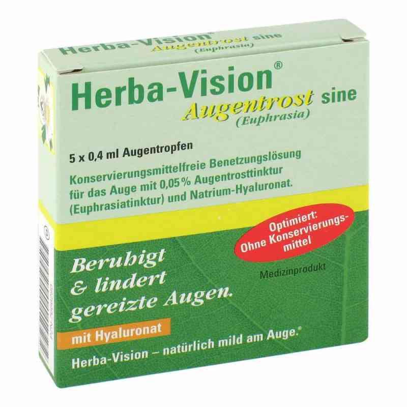 Herba-vision Augentrost sine Augentropfen  bei juvalis.de bestellen