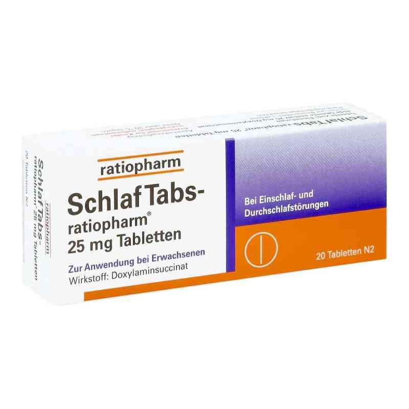 SchlafTabs-ratiopharm 25mg  bei juvalis.de bestellen