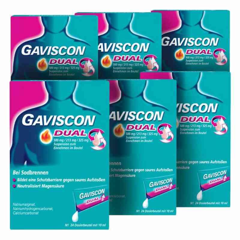GAVISCON Dual 500 mg, 213 mg, 325 mg Suspension Dosierbeutel  bei juvalis.de bestellen