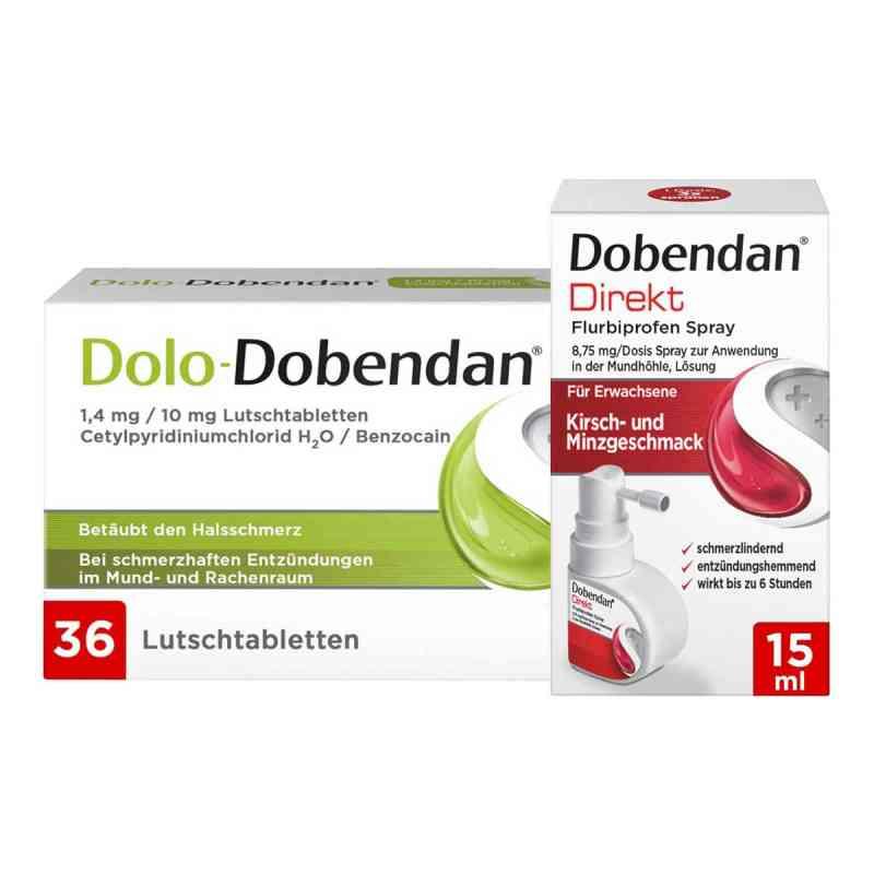 Dolo-Dobendan Set gegen Halsschmerzen  bei juvalis.de bestellen