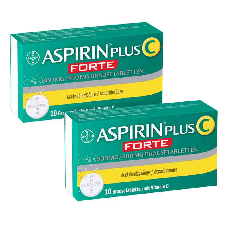 Aspirin plus C forte 800 mg/480 mg Brausetabletten  bei juvalis.de bestellen