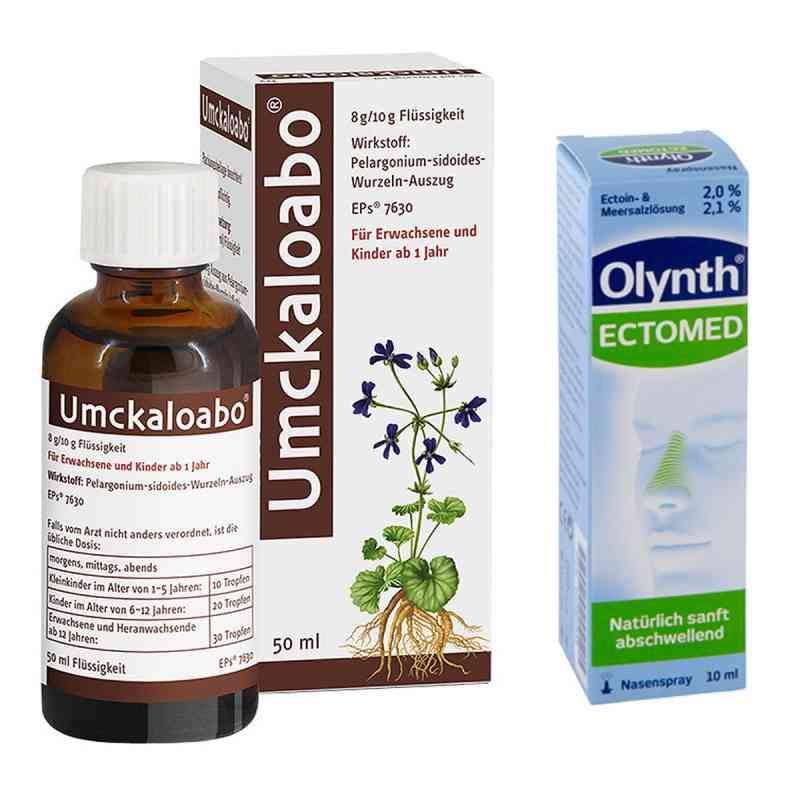 Umckaloabo + Olynth Ectomed Nasenspray  bei juvalis.de bestellen