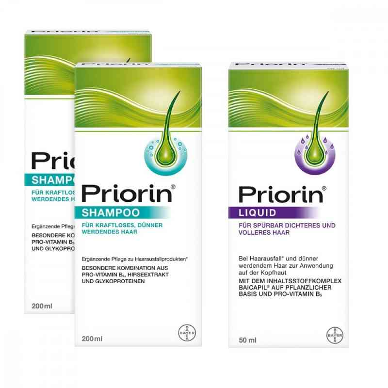2x Priorin Shampoo Priorin Liquid Pumplösung  bei juvalis.de bestellen