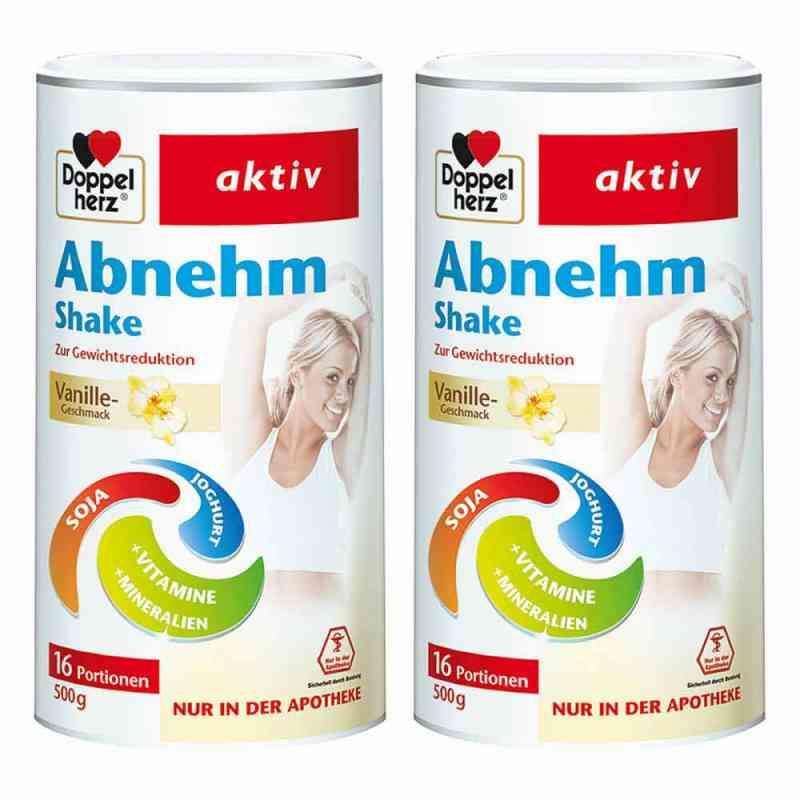 Doppelherz Abnehm Shake Vanille 2er Paket   bei juvalis.de bestellen